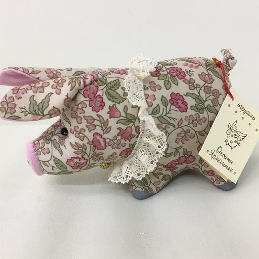 Поросёнок «Барни»от Оксаны Ярмольник : букеты цветов на заказ Flowwow
