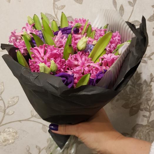 Весенний комплиментик: букеты цветов на заказ Flowwow