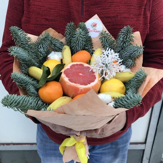 Букет новогодний 2: букеты цветов на заказ Flowwow