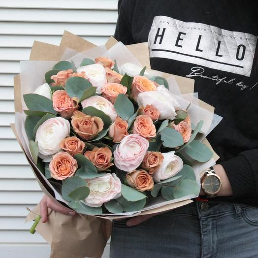 Кофе с зефиром: букеты цветов на заказ Flowwow