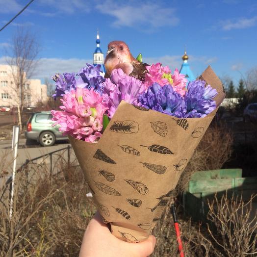 Вестник весны: букеты цветов на заказ Flowwow