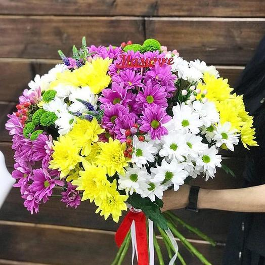 Пушистый букет: букеты цветов на заказ Flowwow