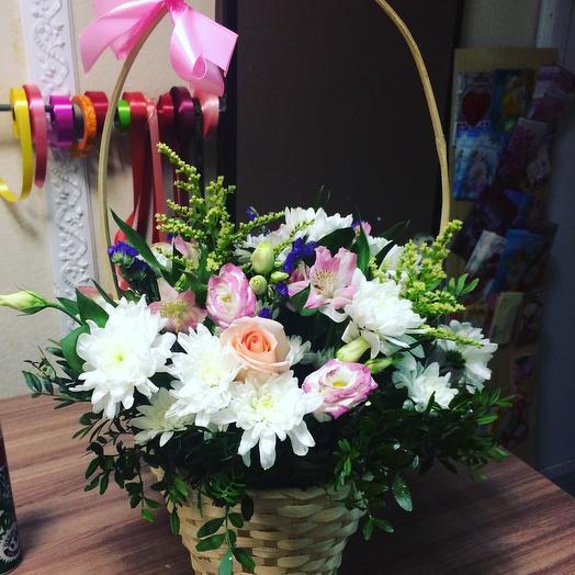 Белая лагуна: букеты цветов на заказ Flowwow