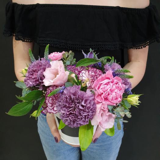 Нежное ведёрко: букеты цветов на заказ Flowwow