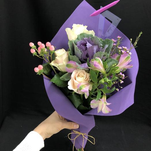 В школу: букеты цветов на заказ Flowwow