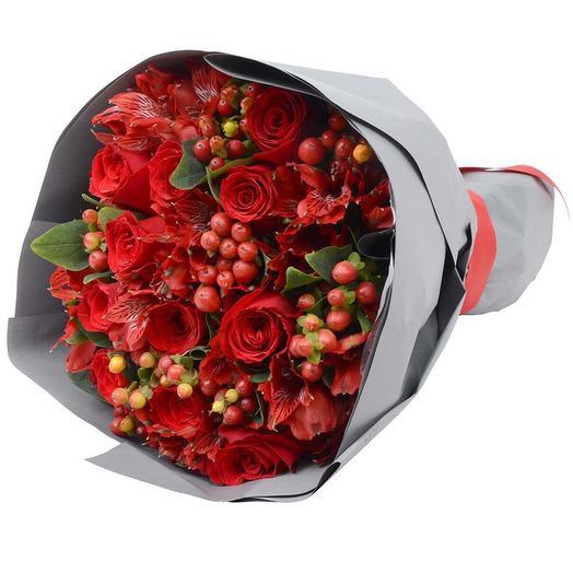 """Букет """"Горячей штучке"""": букеты цветов на заказ Flowwow"""