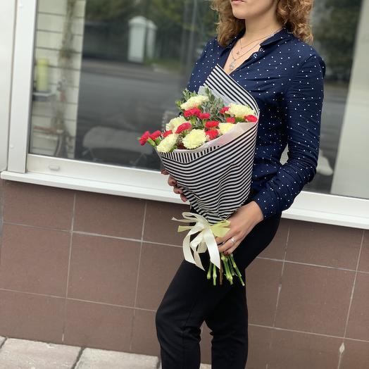 Гвоздичный мусс: букеты цветов на заказ Flowwow