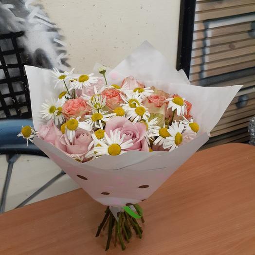 Ромашковый восторг: букеты цветов на заказ Flowwow