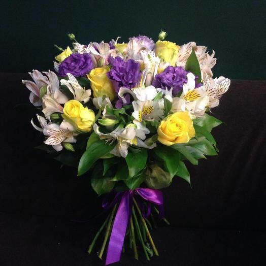 Букет «Соцветие»: букеты цветов на заказ Flowwow