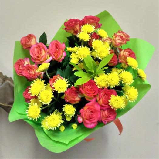 "Букет ""Испания"": букеты цветов на заказ Flowwow"
