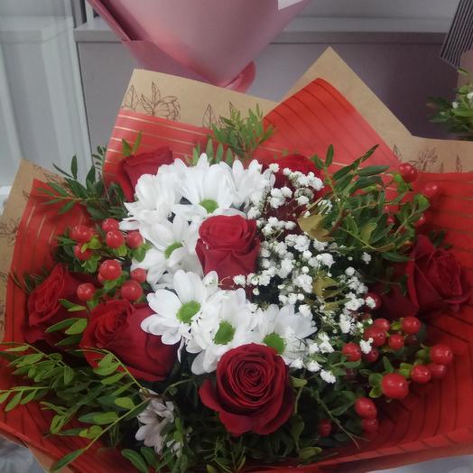 Огонек: букеты цветов на заказ Flowwow
