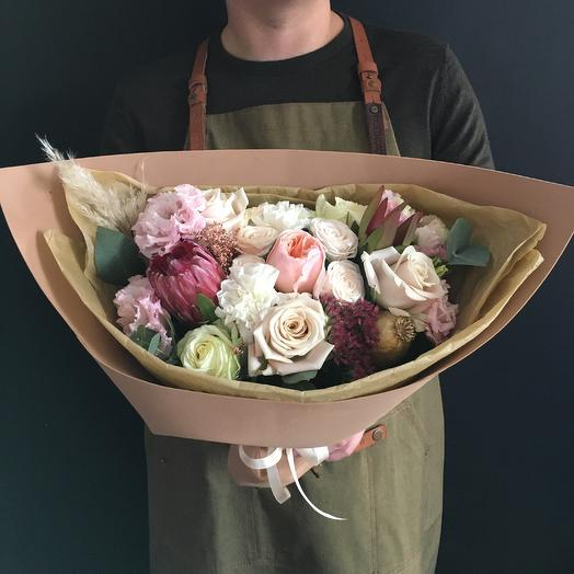Букет с осеним настроением: букеты цветов на заказ Flowwow