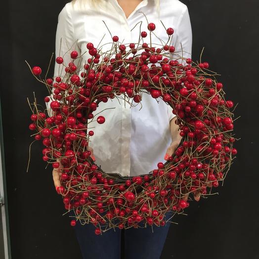 Венок: букеты цветов на заказ Flowwow