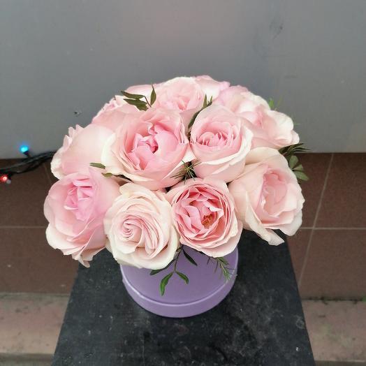 Розовая классика: букеты цветов на заказ Flowwow