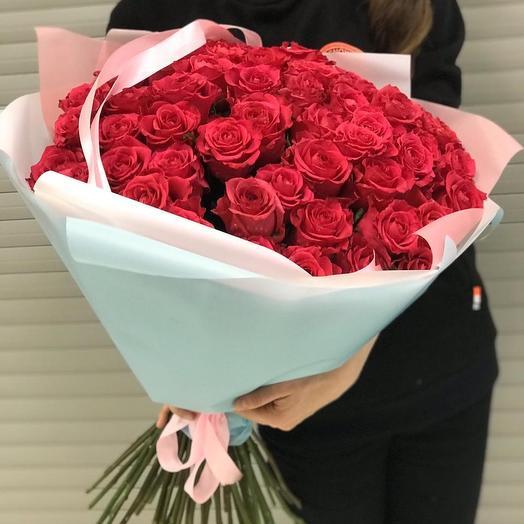 Большая любовь: букеты цветов на заказ Flowwow