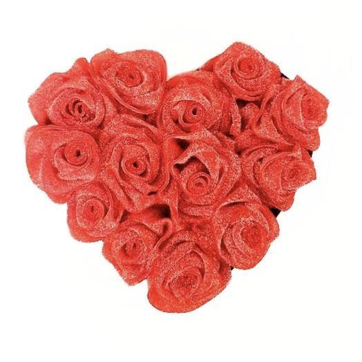 27 Strawberry Sour Belt Roses