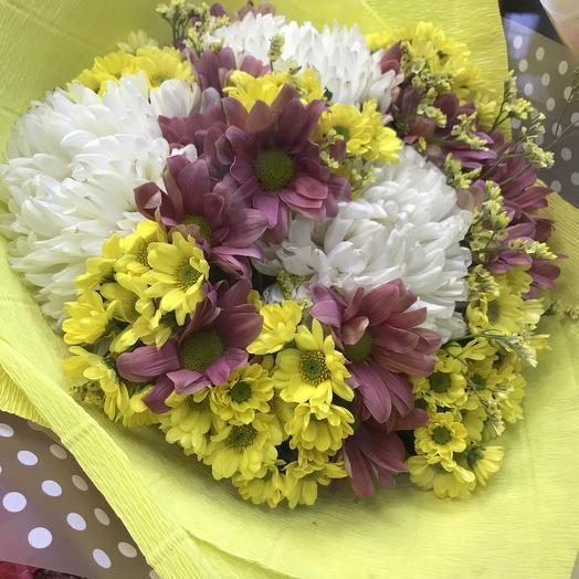 Хризантемах прелесть: букеты цветов на заказ Flowwow
