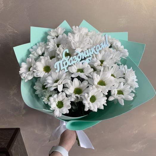 Ромашковое поле 🌼: букеты цветов на заказ Flowwow