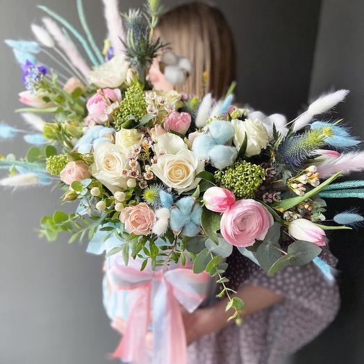 Коробка1: букеты цветов на заказ Flowwow