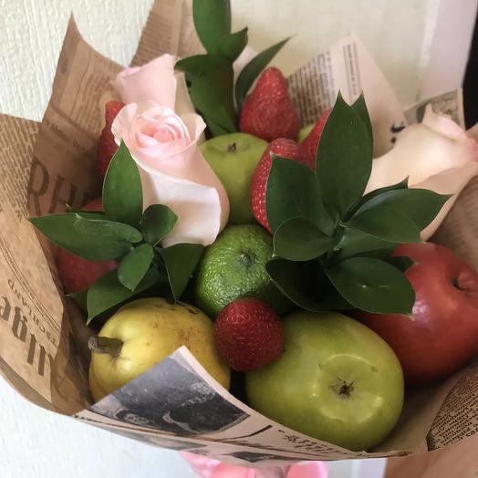 Букет «Фруктовый аромат»: букеты цветов на заказ Flowwow
