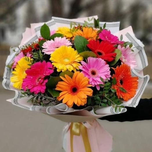 Микс гербер: букеты цветов на заказ Flowwow