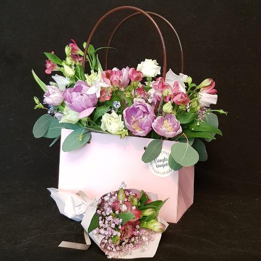 Fresh pink set 6: букеты цветов на заказ Flowwow