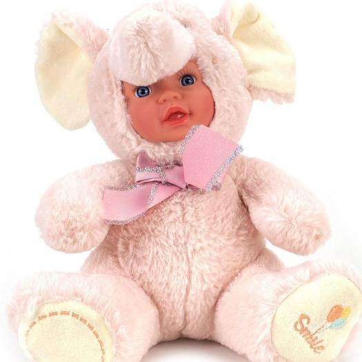 Кукла мягкая 30см