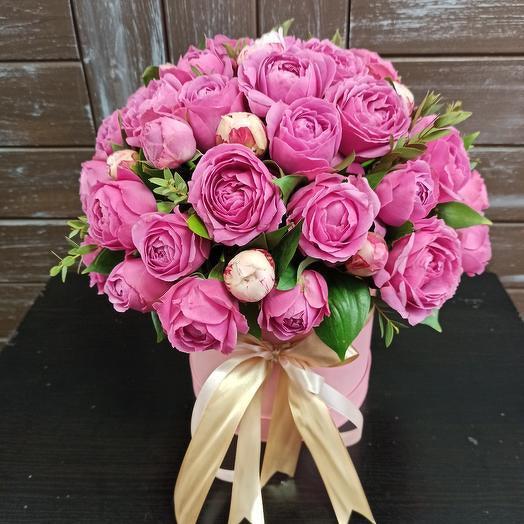 Розовая карамель
