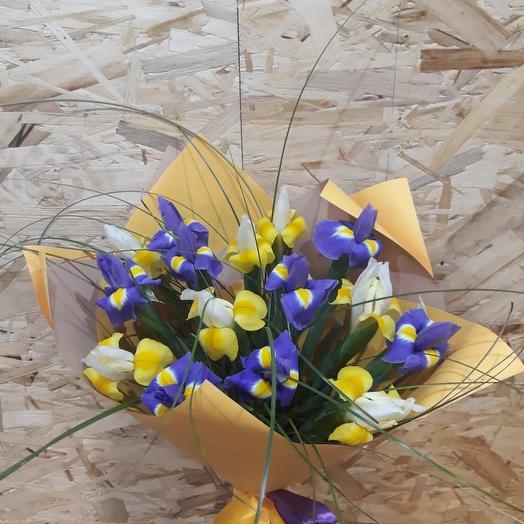 Букет Янтарные блики: букеты цветов на заказ Flowwow