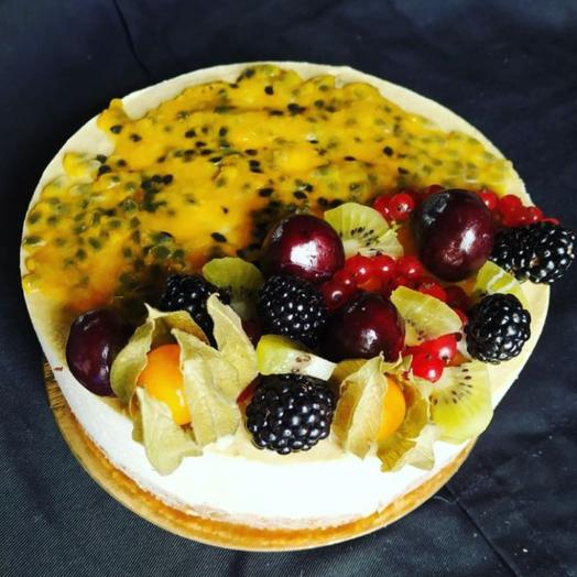 Торт Rawcake маракуйя-базилик