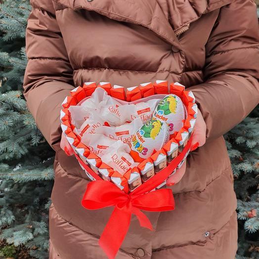 Rosalina Сладкий подарок в коробке сердце