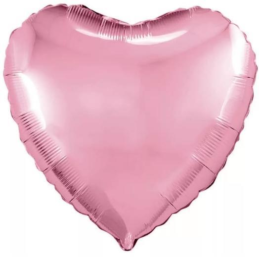Матовое фольгированное сердце