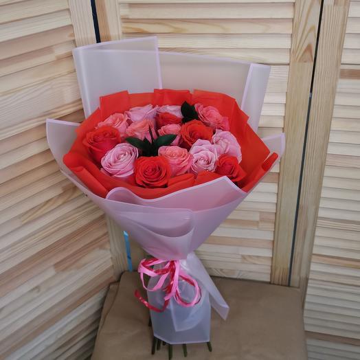 Букет роз 15🌹
