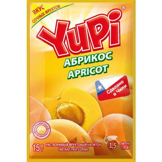 Растворимый напиток Yupi абрикос 15 г