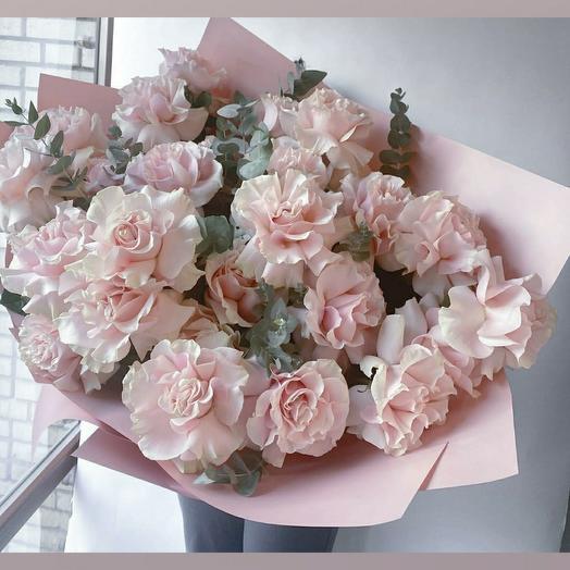 Кружева из роз