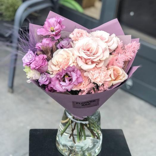 Букет в фиолетовых оттенках