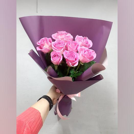 Кения розовая 11шт