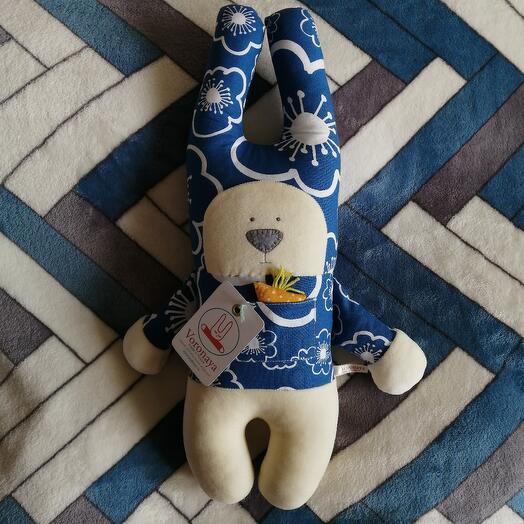 Дизайнерская игрушка VORONAYA TOYS BIG Зайчик 040503