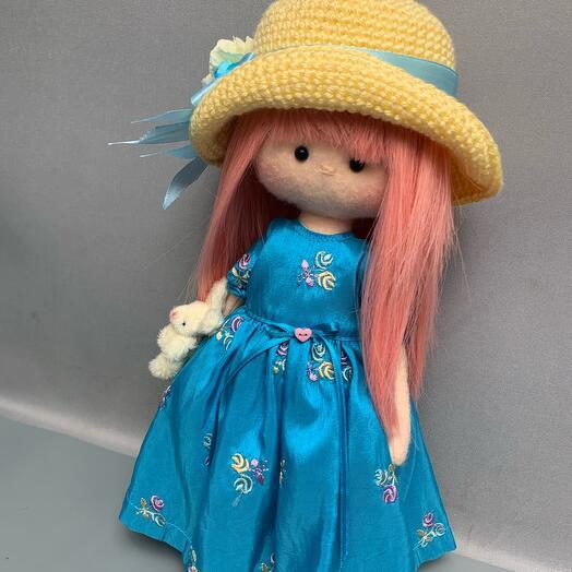 Кукла ручной работы «Сакура»