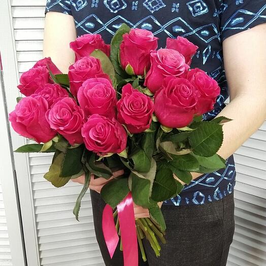 """Букет роз """"Малиновый звон"""""""