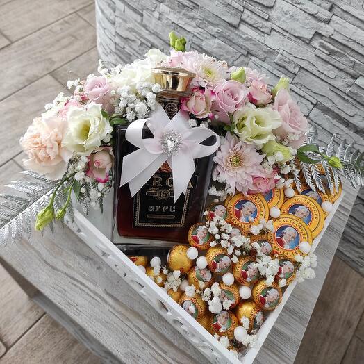 Коробка свадебная