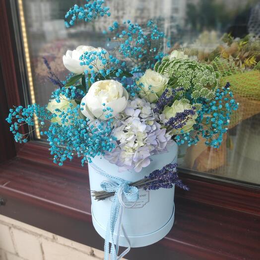 Цветы в коробке Цветочная фея