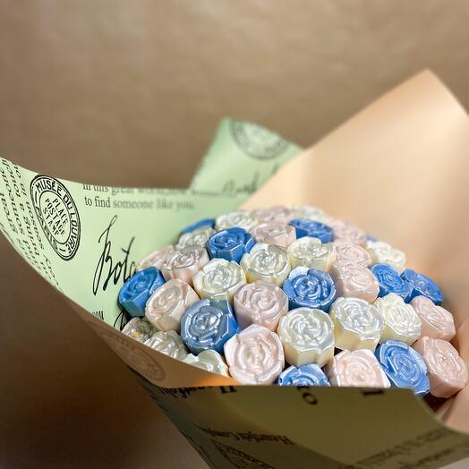 Букет роз из Бельгийского Шоколада