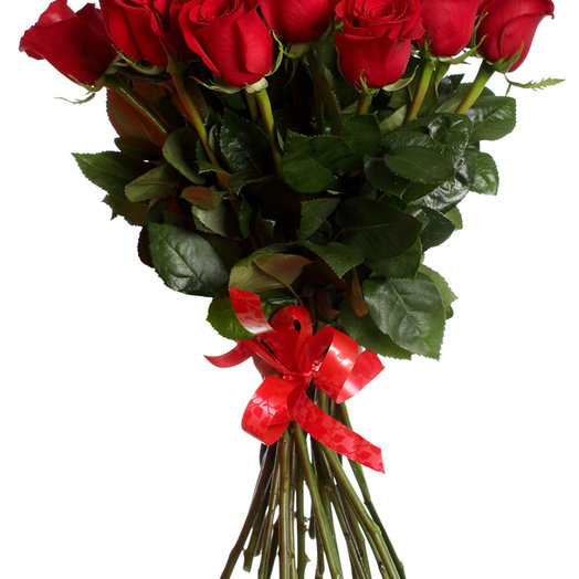 15 красных роз 80 см: букеты цветов на заказ Flowwow