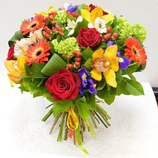 Букет цветов Полнота жизни: букеты цветов на заказ Flowwow