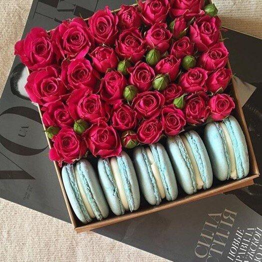 SweetBox: букеты цветов на заказ Flowwow