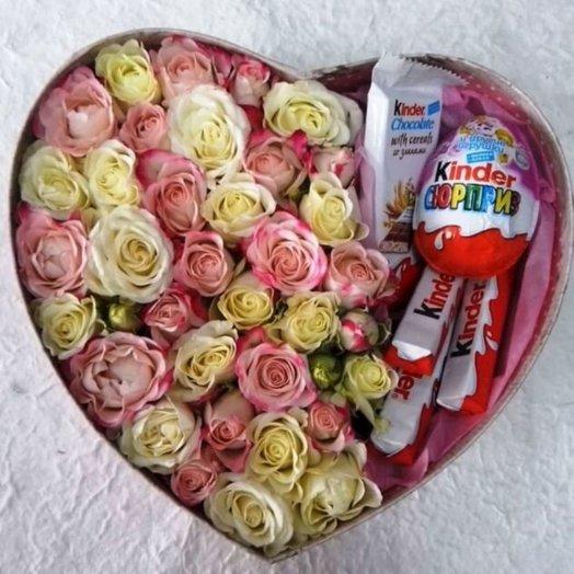 Коробка 3: букеты цветов на заказ Flowwow