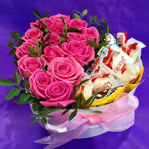 """Коробочка """"Кристи"""": букеты цветов на заказ Flowwow"""