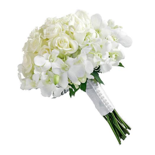 Букет невесты «Вальс цветов»: букеты цветов на заказ Flowwow