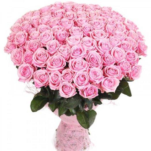 Розовая роза аква 51: букеты цветов на заказ Flowwow